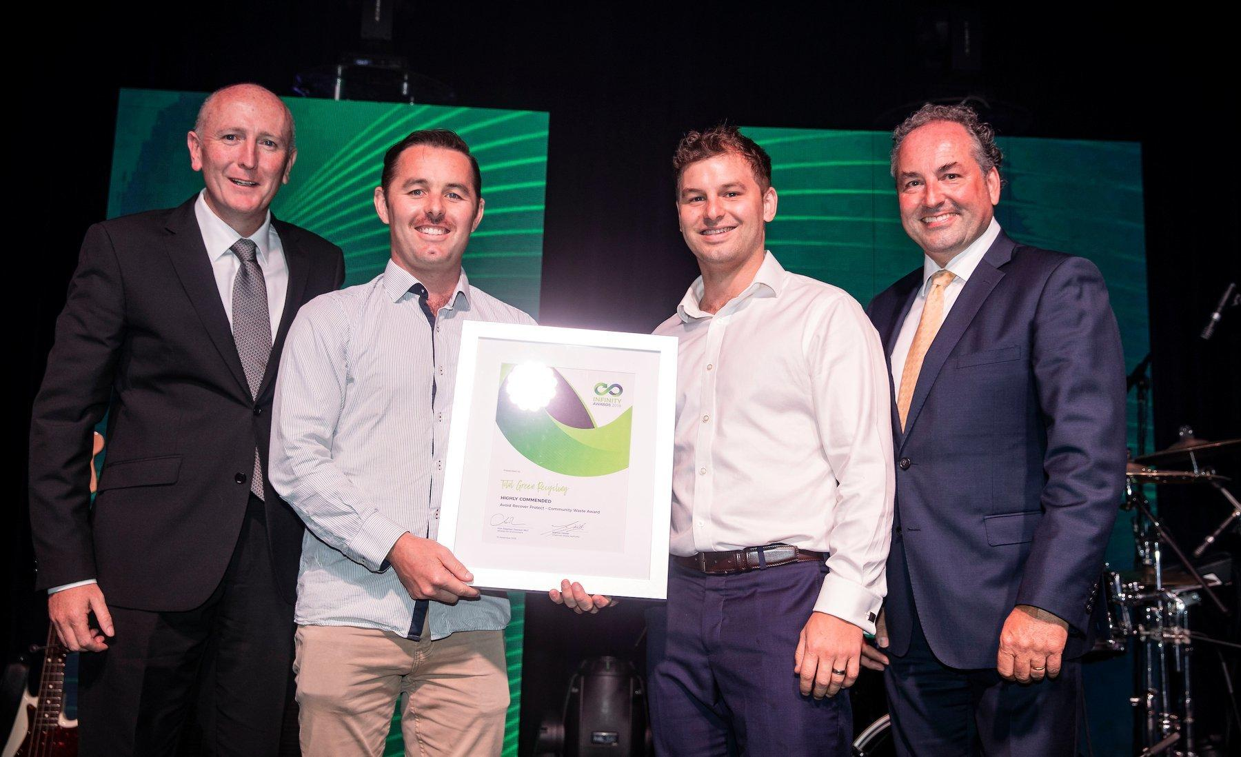 TGR highly commended in category – Avoid Recover Protect – Community Waste Award